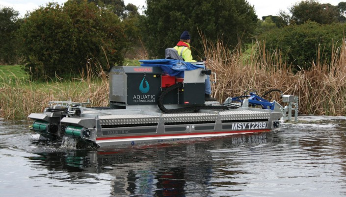 Mobitrac Aquatic Harvesters for Sale