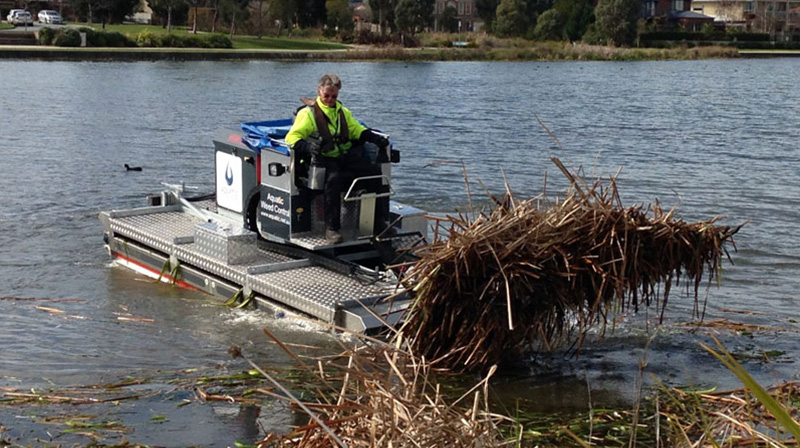 Mobitrac Aquatic Weed Harvesters