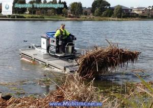 mobitrac-amphibious-harvester-rake